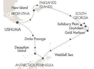 ポナン 南極クルーズ