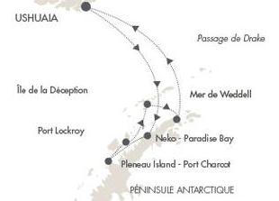 ポナン南極クルーズ